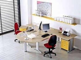 desain interior kantor minimalis modern 11